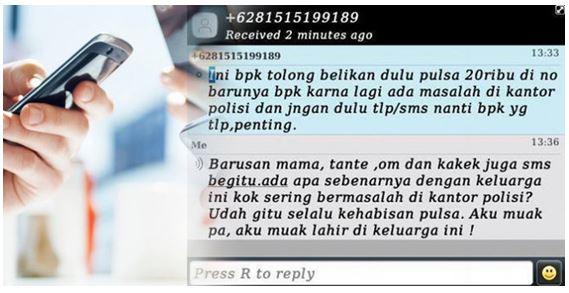Diganggu SMS undian berhadiah