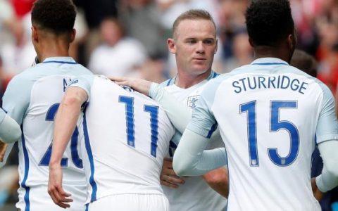 Wayne Rooney dan Timnas Inggris