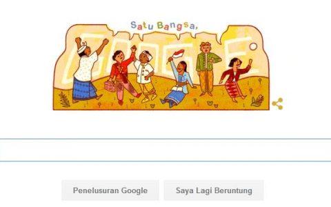 Hari Sumpah Pemuda google doodle