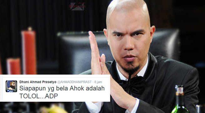 twit ahmad dhani
