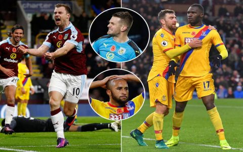 Crystal Palace vs Burnley