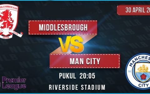 prediksi Middlesbrough vs Manchester City