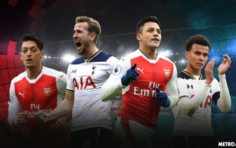 streaming tottenham vs arsenal