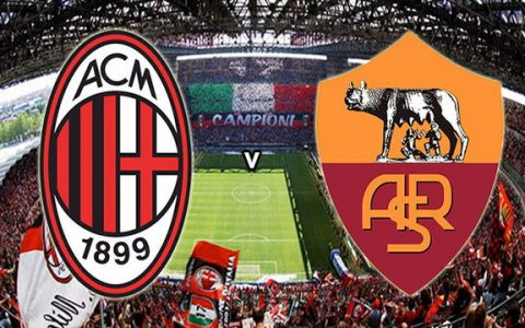 Live Streaming AC Milan vs AS Roma