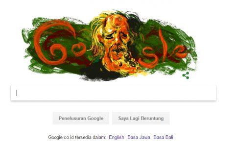 Affandi google doodle