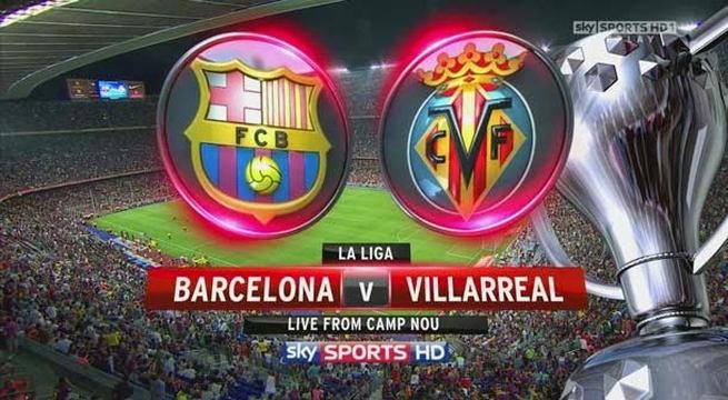 Live Streaming Barcelona vs Villarreal La liga