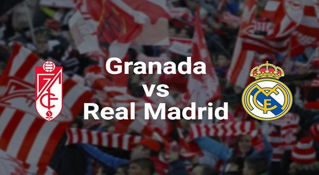 Live Streaming Granada vs Real Madrid