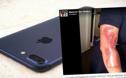iPhone 7 meledak di inggris