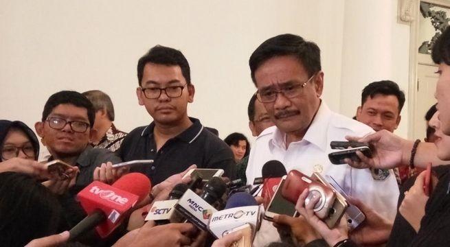 Ahok Beri selamat Gubernur DKI Jakarta Djarot Saeful Hidayat