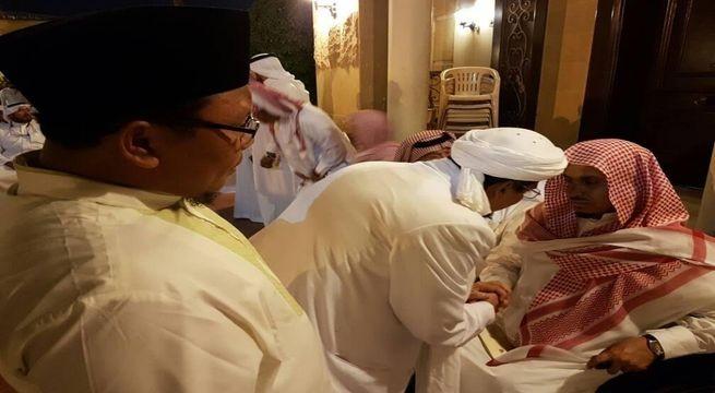 Rizieq Shihab Bertemu ulama di arab saudi