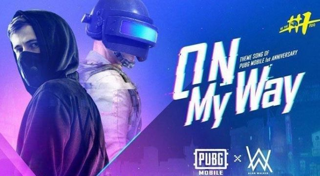 Download Lagu Alan Walker On My Way Mp3 ost PUBG MOBILE