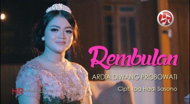 Download Lagu Ardia Diwang Probowati Rembulan Mp3